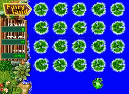 スロットボーナスゲームFairy Land
