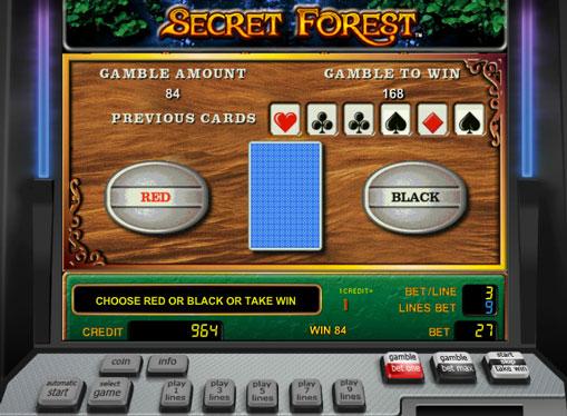 ダブルスロットゲームSecret Forest