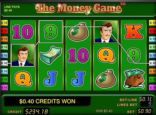 Money Gameオンラインプレイスロット