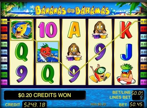 リールスロットBananas go Bahamas