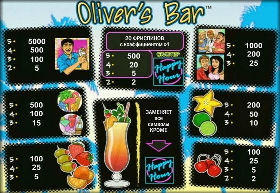 スロットのロゴOliver's Bar