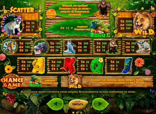 スロットのロゴHappy Jungle